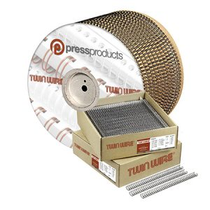 Press Products, Twin Wire, Binding, Spools, Cut Lengths
