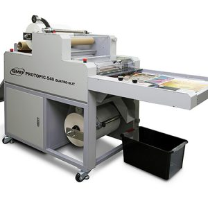 Press Products, Quatro Slit, Laminator, Semi-Automatic, GMP