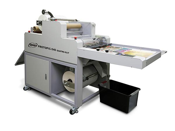 Press Products, Quatro Slit, Laminator, Semi-Automatic, GMP