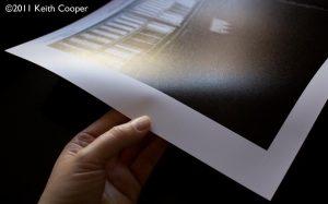 Paper Crinkle test