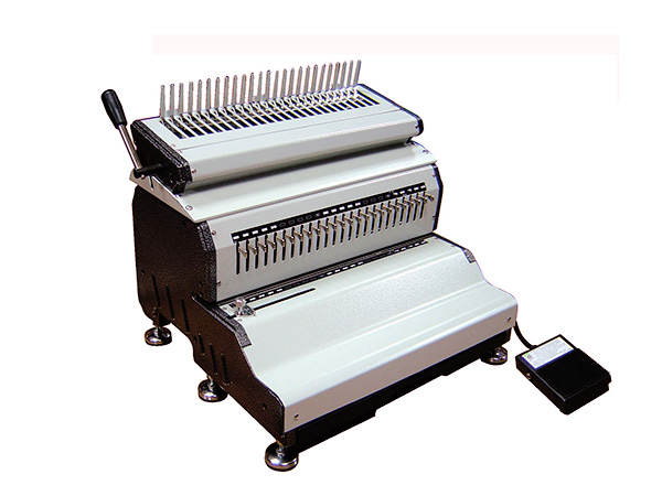 Press Products, E240, Binder, Electric Binder, Bindquip, Wiremac, Wire, Comb