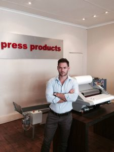 Shaun Blumberg, Managing Director of Press Products